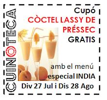 CUPO COCTEL LASSY