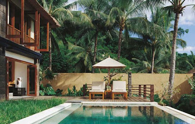 Qunci Villas is Lombok' hippest hotel, combining textbook minimalist design with Balinese and Japanese influence