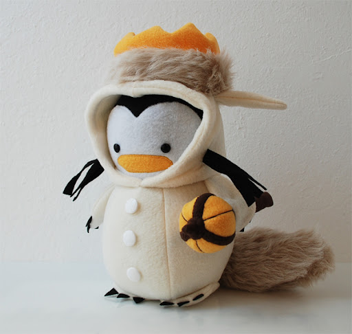 Where The Wild Things Are Penguin from My Dear Darling