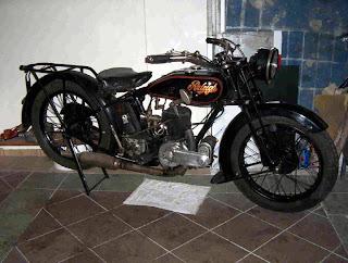 Classic Motorcycle European Old Bike