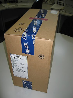 Asus F3JR packed box