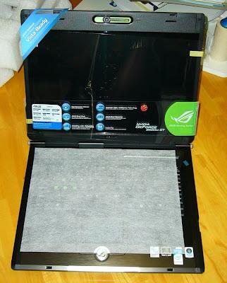 Asus G1S laptop computer