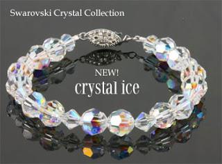 Crystal Ice Jewelry designed with Swarovski Crystals