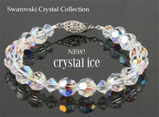 Crystal Ice Jewelry designed with Swarovski Crystals