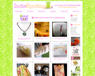 IndieSpotting has featured the Watermelon Tourmaline Moss Agate Gemstone Necklace (N077) by Crystal Allure