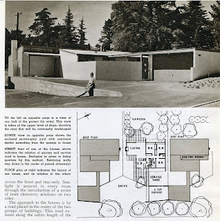gregory ain - altadena - park planned homes - american builder article, 1948 - 2