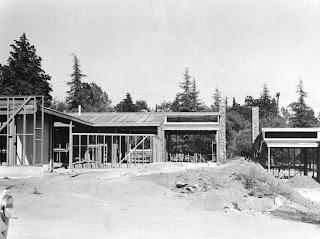 gregory ain - altadena - park planned homes - construction, circa 1946