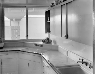 gregory ain - altadena - park planned home kitchen, circa 1946 - 2