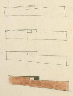gregory ain - altadena - sketch for park planned homes - set 1