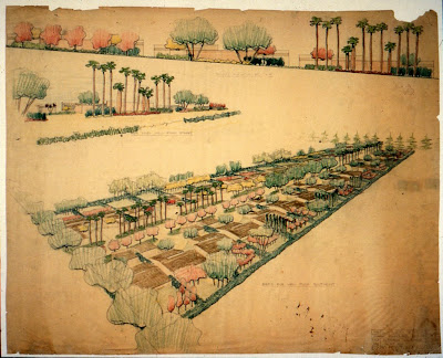 gregory ain and garrett eckbo - park planned homes altadena - streetscape concepts