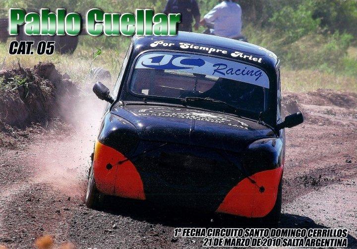 PABLITO CUELLAR - PILOTO JC RACING