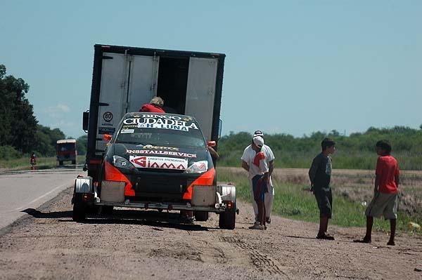 LLEGANDO AL AUTODROMO DE SANTIAGO 09