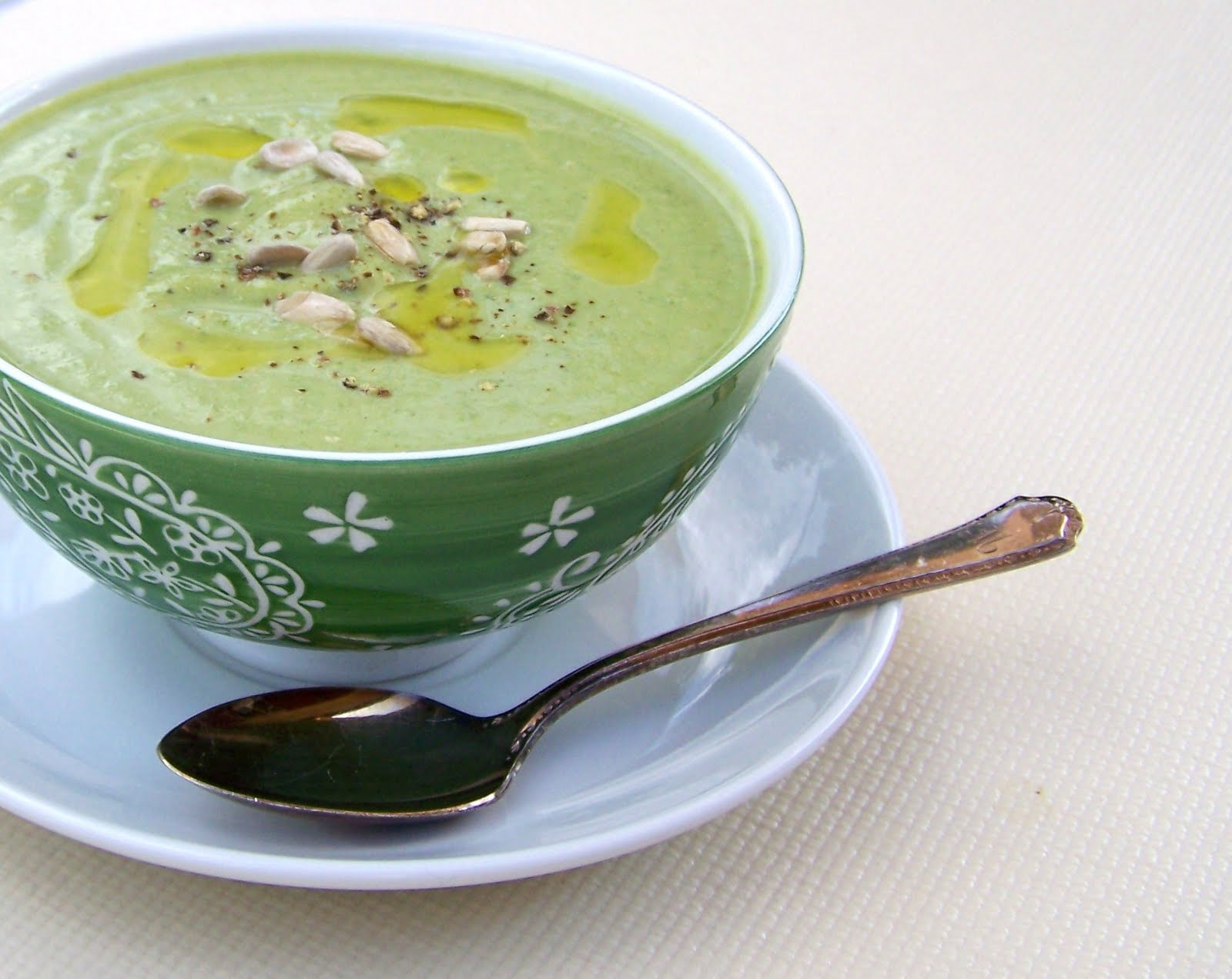 ... Healthy Kitchen: Creamy Broccoli and Spinach Soup with Coconut Milk