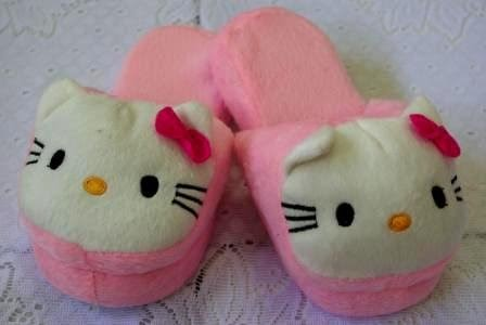 hello kitty children kids girls bedroom slippers shoes