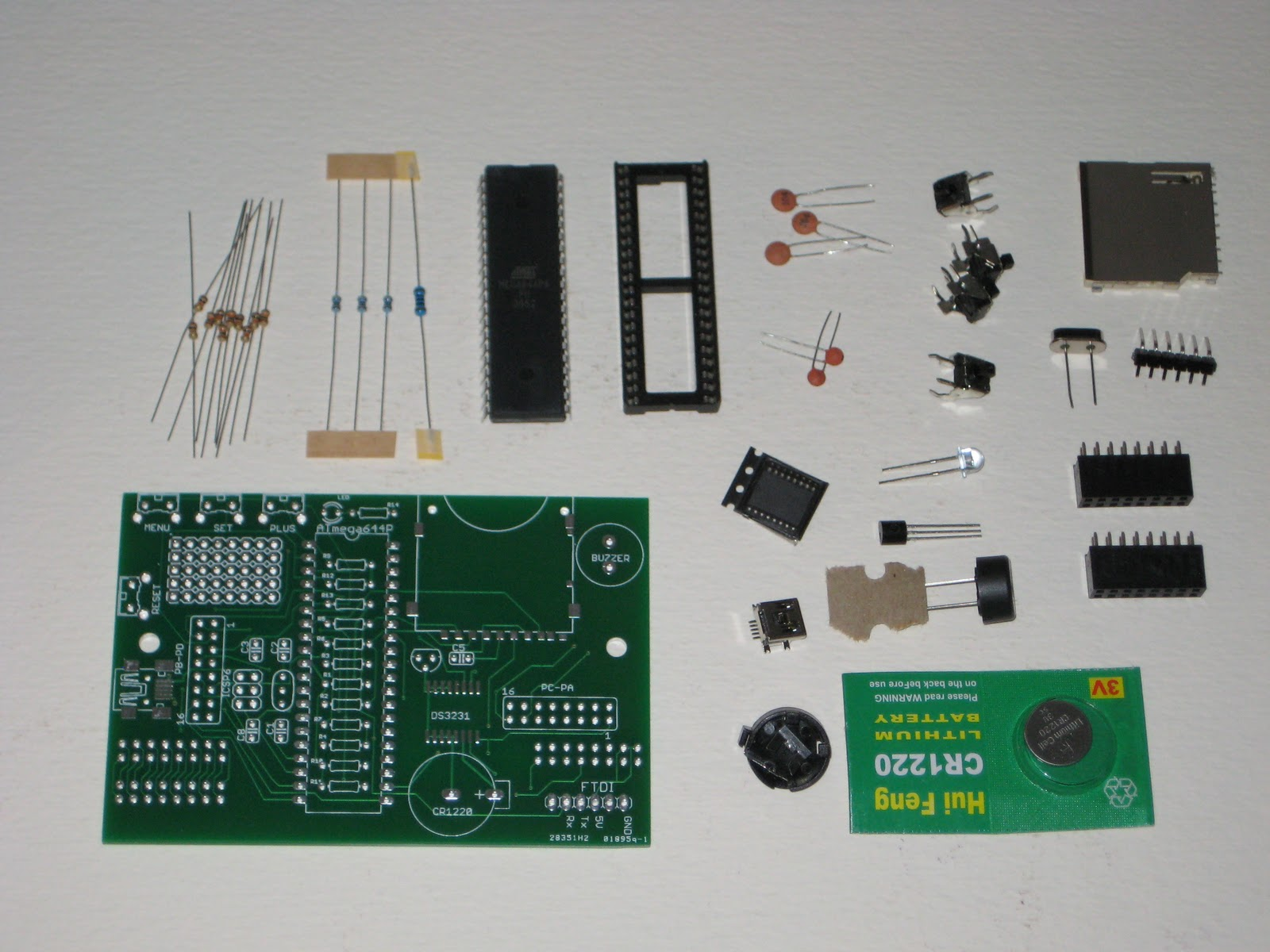 Wise time with arduino clock kit now available in