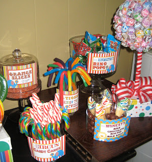 Kami Buchanan Custom Designs Circus Party Ideas