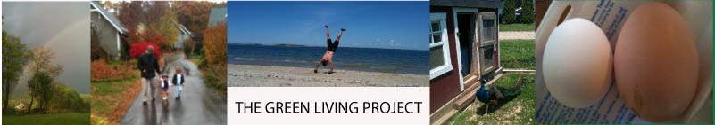 The Green Living Project - A Mommy blog