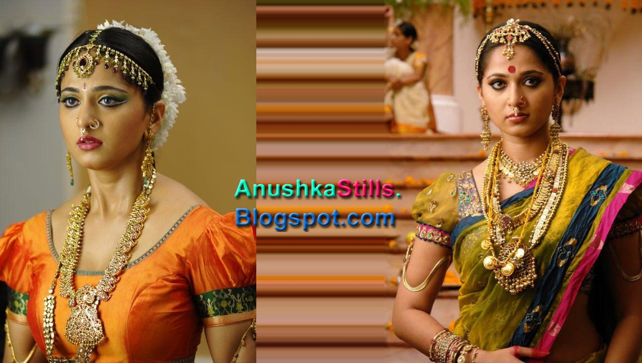 ISarees Anushka In Bridal Saree 6 Mega Photos