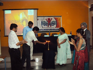 Geetha Bali Naveen Jha and Jigjini innougurating the program