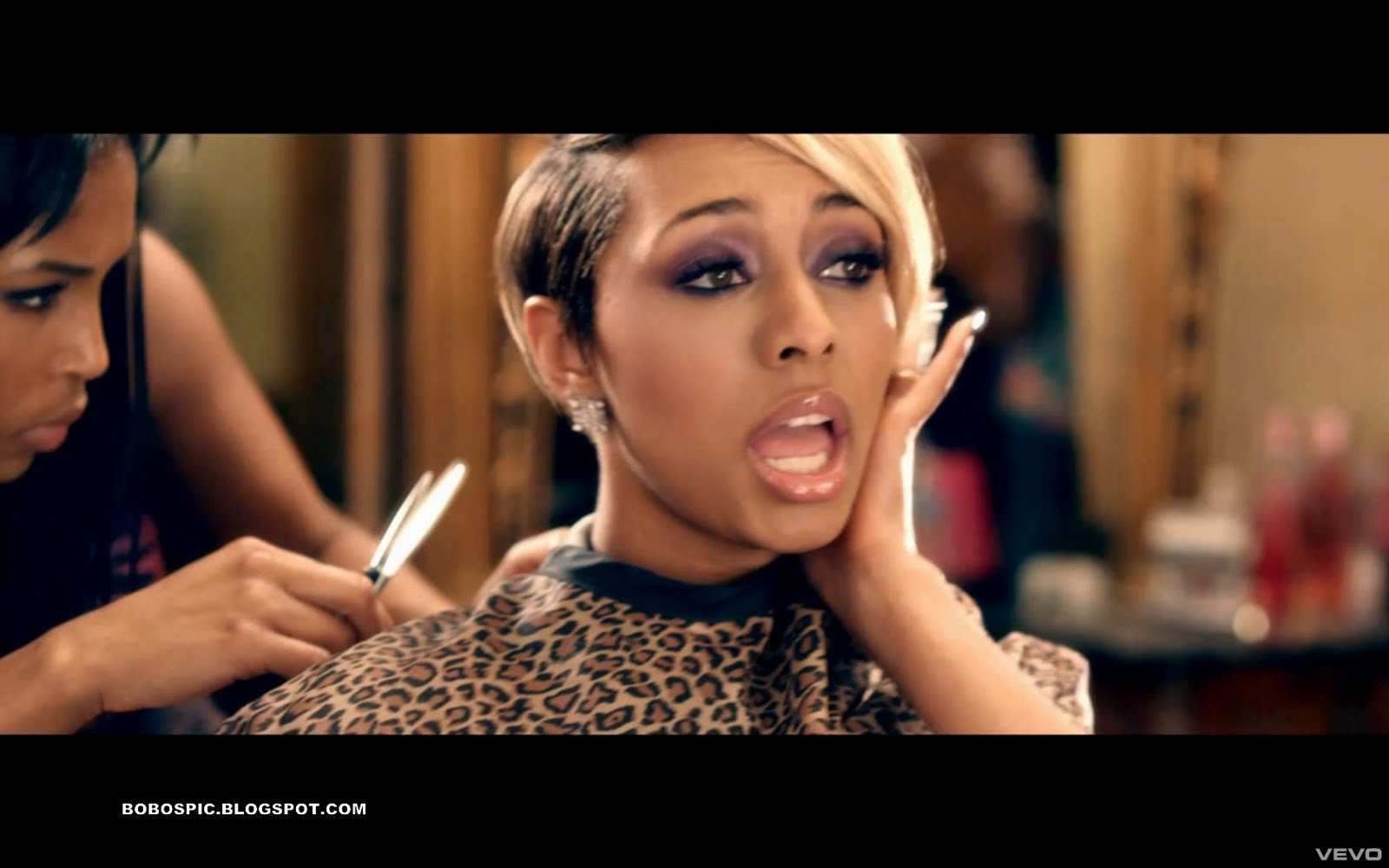 keri hilson breaking point short hairstyle 2013