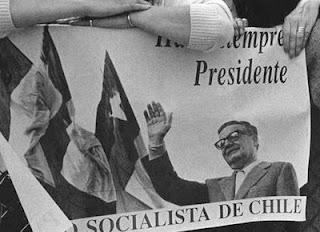 Salvador Allende, presidente constitucional derrocado mediante un golpe de Estado