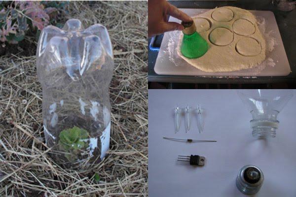 Ri pet 10 idee per riutilizzare le bottiglie in pet for Trappola per talpe fai da te