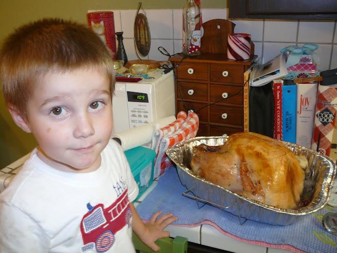 Mom's First Turkey!