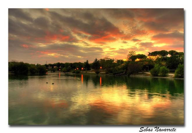 Atardecer Laguna Mari-Pascuala