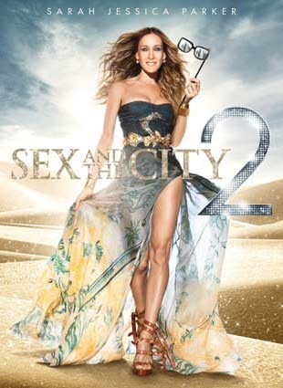Filme Poster Sex and the City 2 DVDRip x264 Legendado
