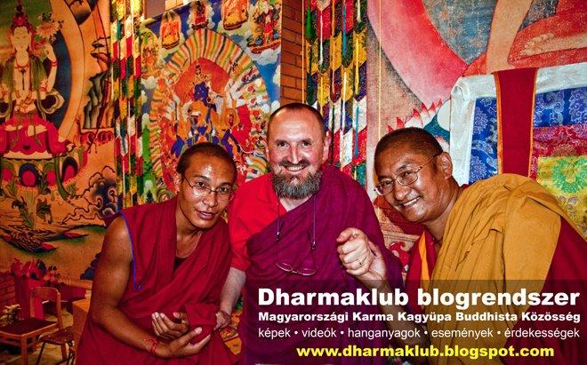 Dharmaklub blogrendszer