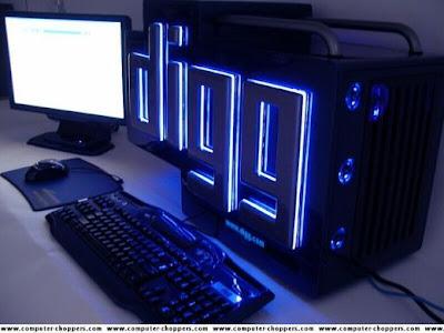 Unit designs computer cabinet design for computer modification work