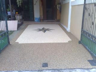 Epoxy Pebblestone Flooring