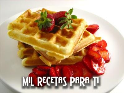 Waffles rapidisimos
