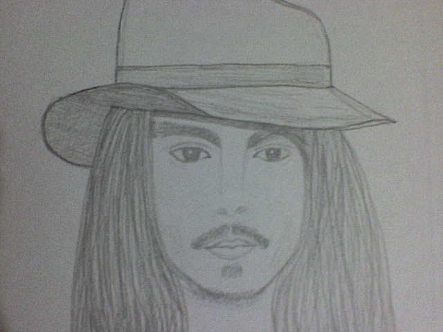 Desenho que eu fiz do Johnny...