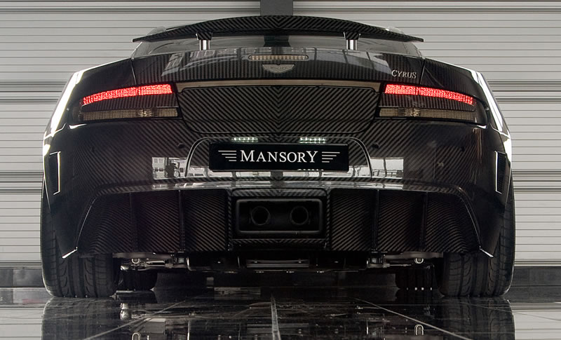 2005 Mansory Aston Martin Vanquish S. Mansory Aston Martin Cyrus