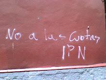 Pinta en ESIME Allende