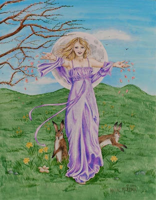 Eastre, the Goddess of Dawn and Spring