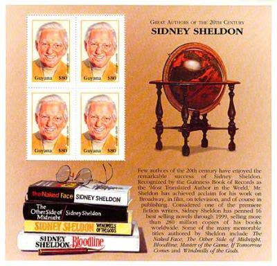 Sheldon honoured with a commemorative Stamp set