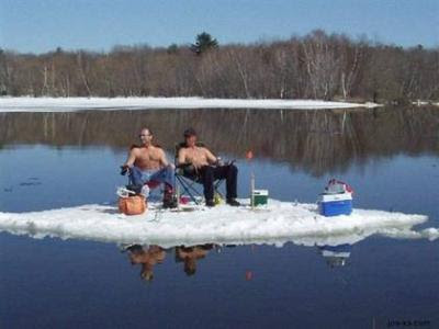 Ice-Fishing Rednecks