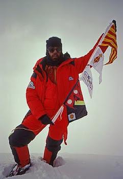 Hem fet el cim. En Cadiach, Vallès i Sors van conquerir l'Everest ara fa 25 anys.