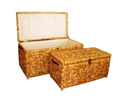 Water hyacinth handicrafts Basket Model 1, Antique Baskets, Natural handicraft, Basket