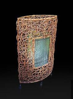 Charm Floor Lamp of Natural Handicraft