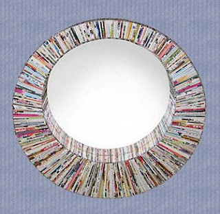 Beautiful Decorative Mirror of Natural Handicraft_002