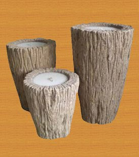 Romantic Candle Holder of Natural Handicraft