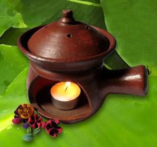Sandalwood aromatherapy candles