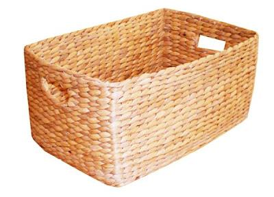 Antique baskets from water hyacinth fibers, basket, natural handicraft, handicraft, organic handicraft