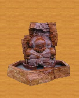 Water Fountain Ridge, water fountain, garden ornament, stone handicraft