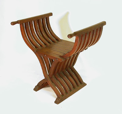 Antique folding chair,Antique Chair, Chair, wood handicraft, Furniture - Antique Natural Handicraft Collections: Antique Folding Chair