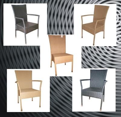 Design a simple handicraft rattan chair