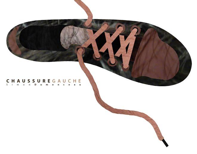 chaussure gauche